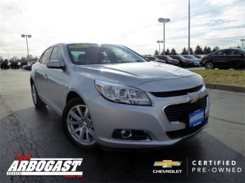 Certified Used Chevrolet Malibu LTZ