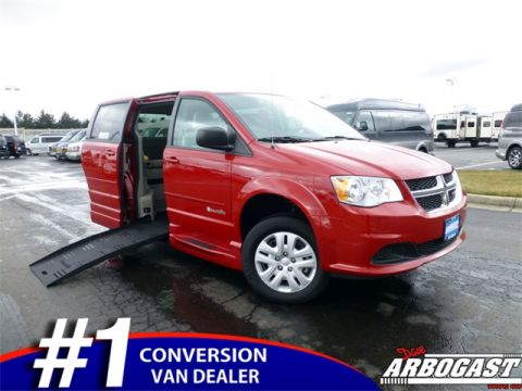 Used Dodge Grand Caravan BraunAbility EnterVan Mobility
