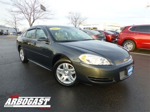 Certified Used Chevrolet Impala LT