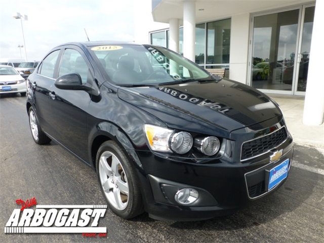 Used Chevrolet Sonic 2LZ