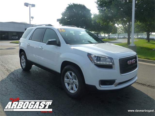 new 2016 gmc acadia sle 2 fwd 4d sport utility. Black Bedroom Furniture Sets. Home Design Ideas