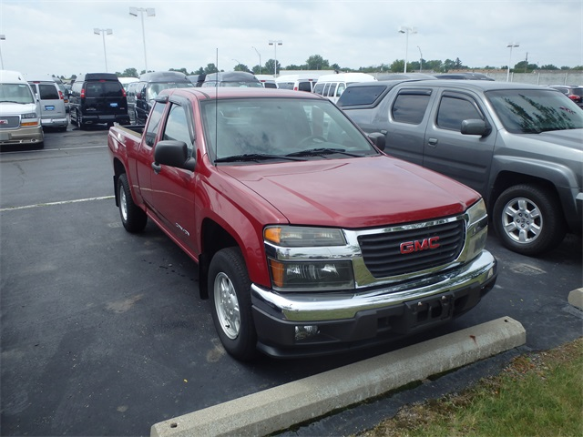 Used GMC Canyon