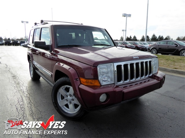 pre owned 2007 jeep commander limited 4d sport utility in. Black Bedroom Furniture Sets. Home Design Ideas