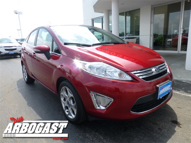 Used Ford Fiesta Titanium